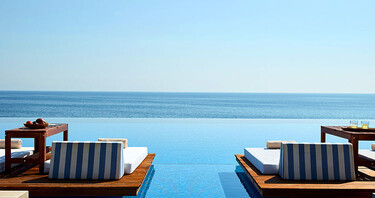 An exceptional offer. Up to 49% off Cavo Olympo Luxury Resort & Spa *****.